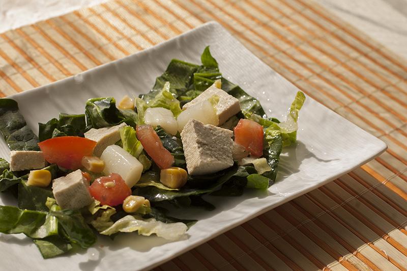 Resultado de imagen para Ensalada de espinacas y tofu
