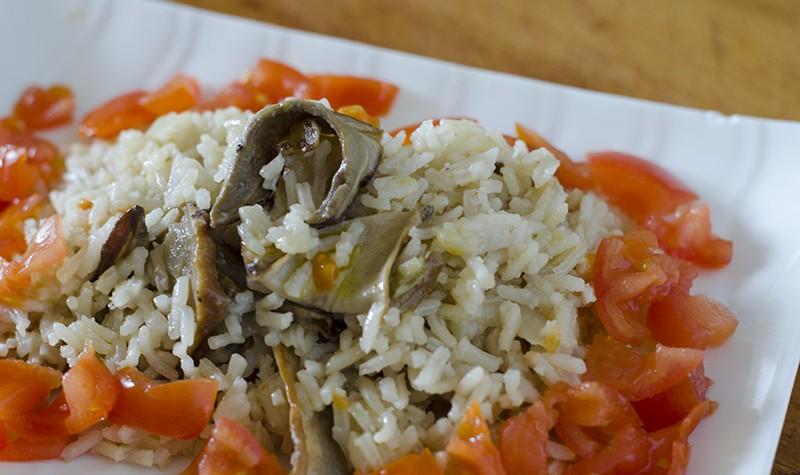 recetas_vegetarianas_veganas_faciles_cocina_arroz_setas