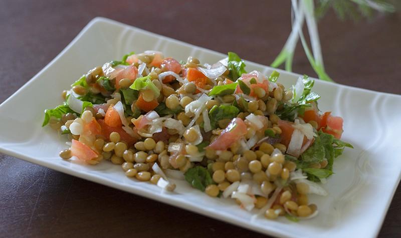 recetas_vegetarianas_veganismo_ensalada_lentejas