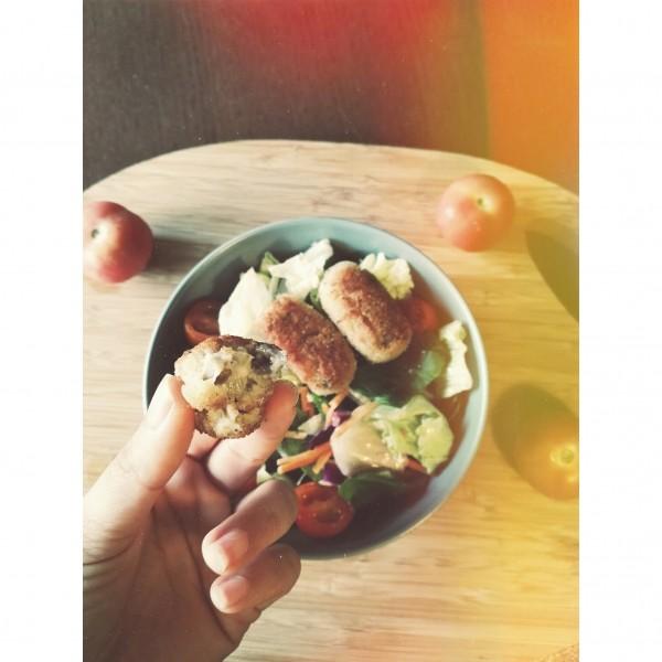 Croquetas veganas de setas