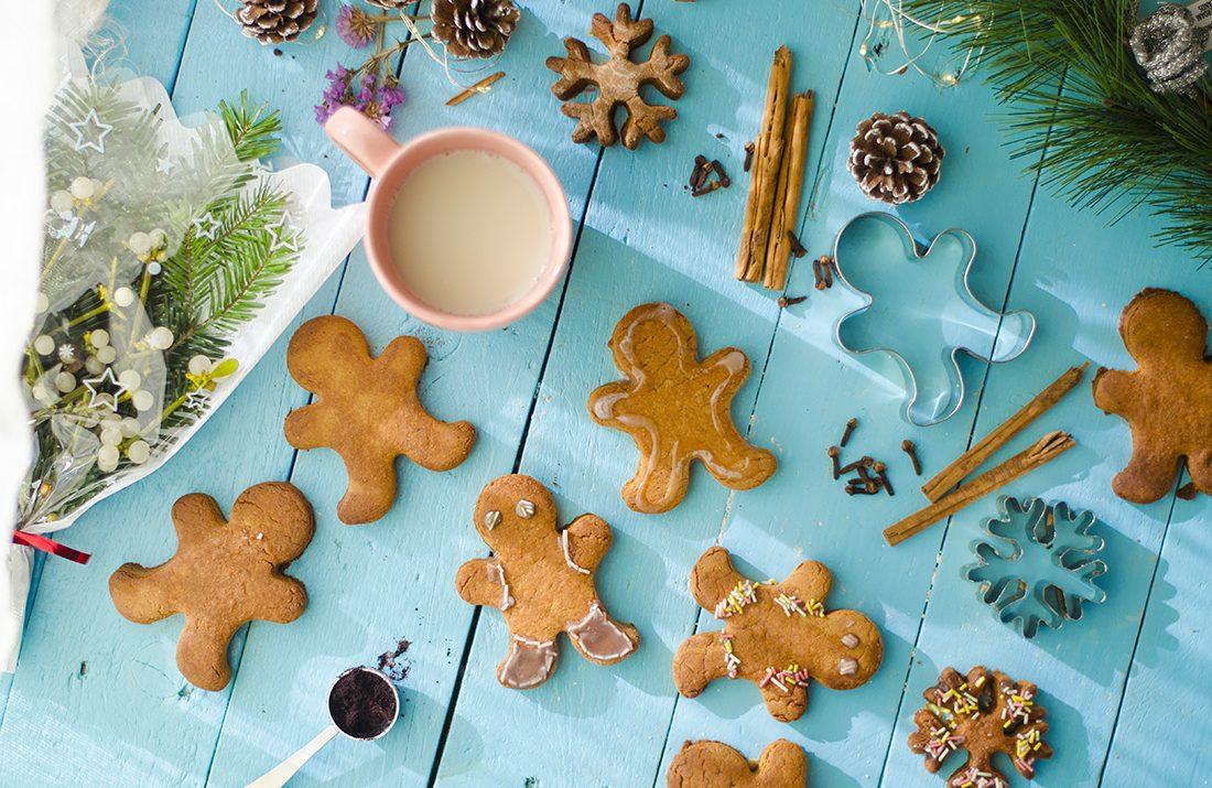Galletas de jengibre: gingerbread man