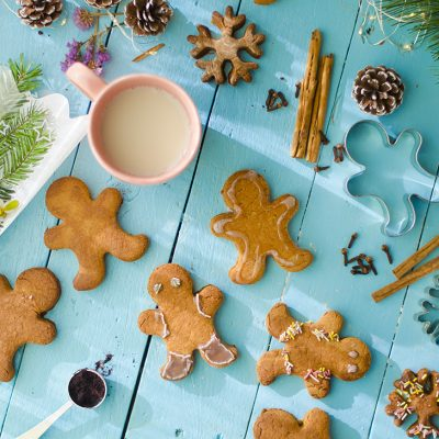 Galletas de jengibre: gingerbread man