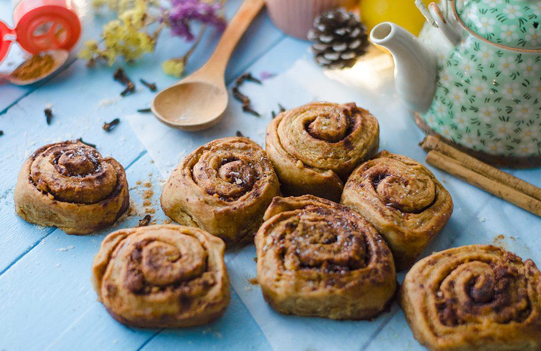 Cinnamon rolls- rollitos de canela