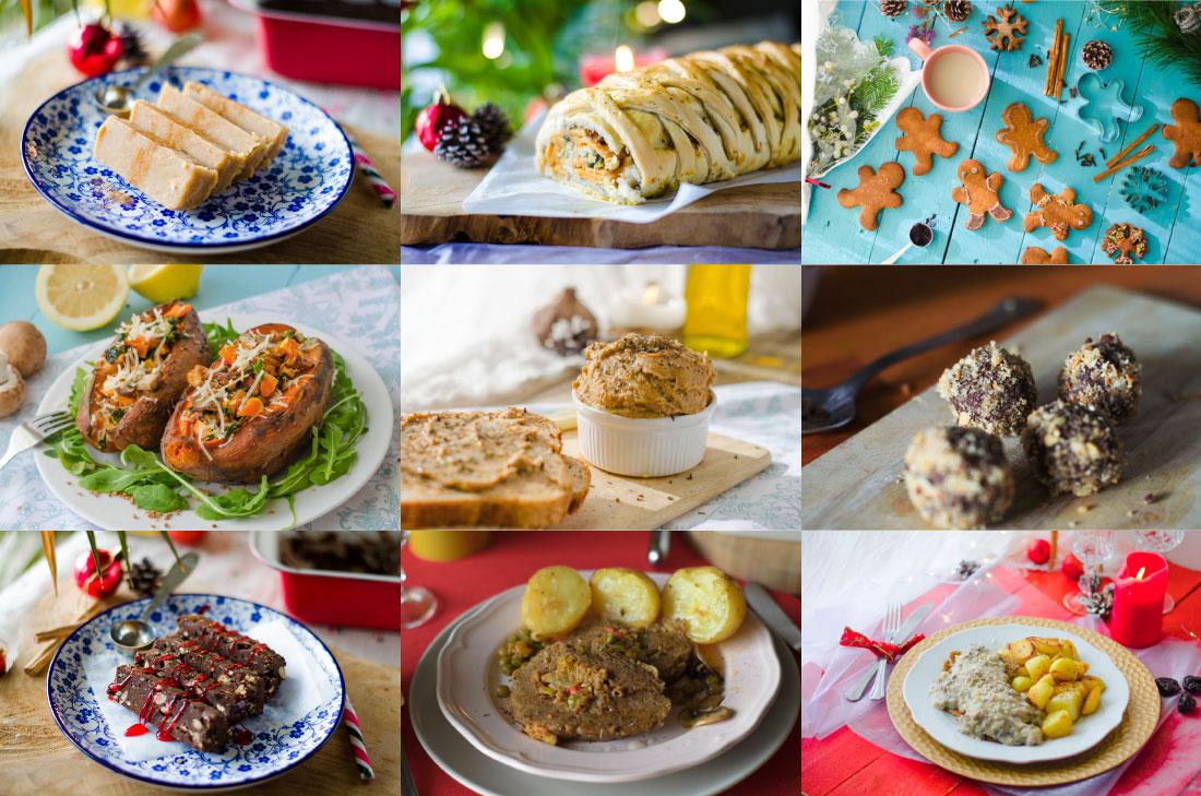 Recetas veganas para navidad 100 vegetarianas mis for Resetas para comidas