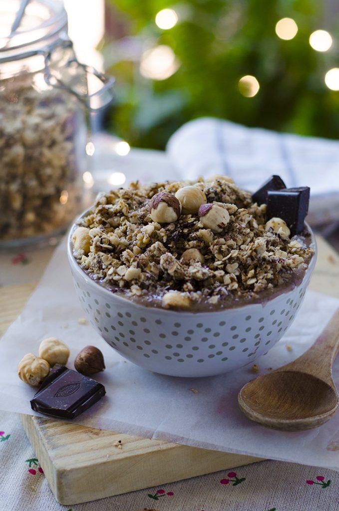 Granola casera y vegana
