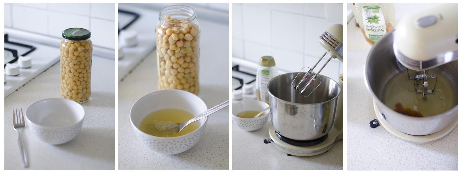 "La ""nata"" o ""merengue"" vegano se puede hacer a partir de Aquafaba."