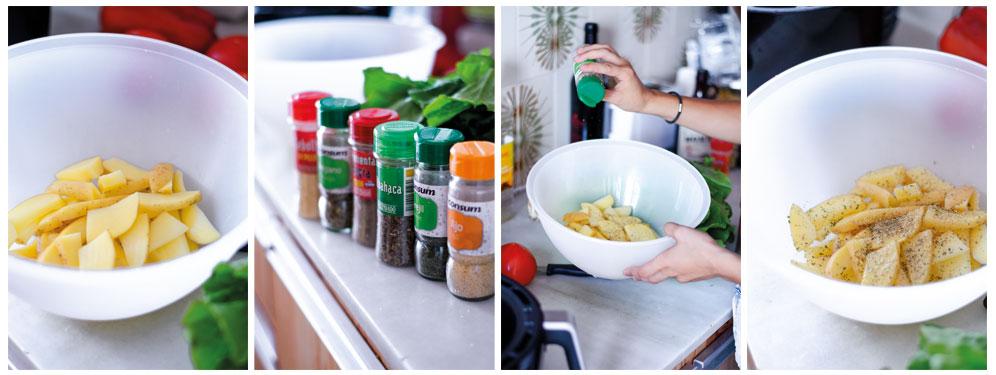 Las patatas especiadas son fáciles, baratas y gustan a todo el mundo.