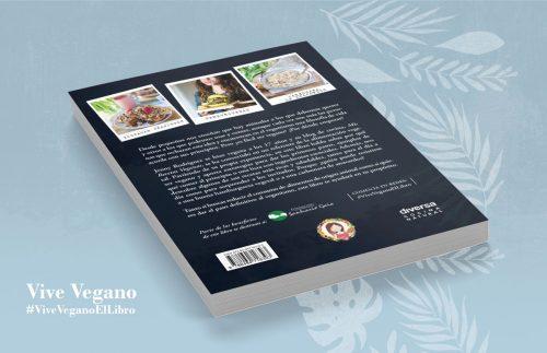 Vive Vegano. Libro sobre veganismo en Español: ensayo sobre derechos animales, veganismo y recetas vegetarianas (veganas) fáciles.