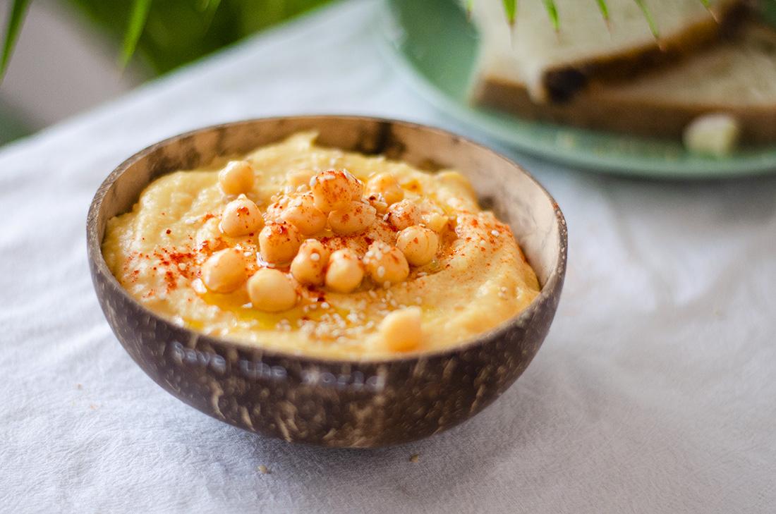 Hummus Fácil Barato Y Rápido