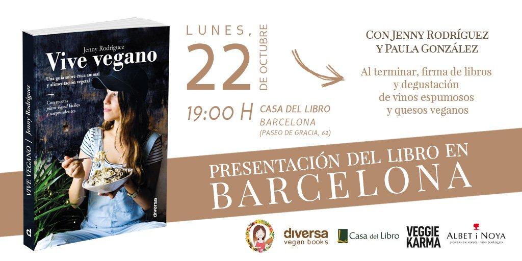 Presentacion Vive Vegano Barcelona Casa del libro