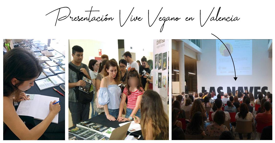 Presentación Vive Vegano en Valencia.