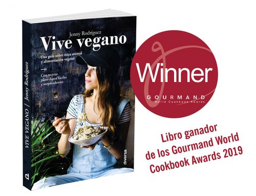 vive vegano recetas vegetarianas faciles, derechos animales, veganismo, premios, español, ganador gourmand world cookbook