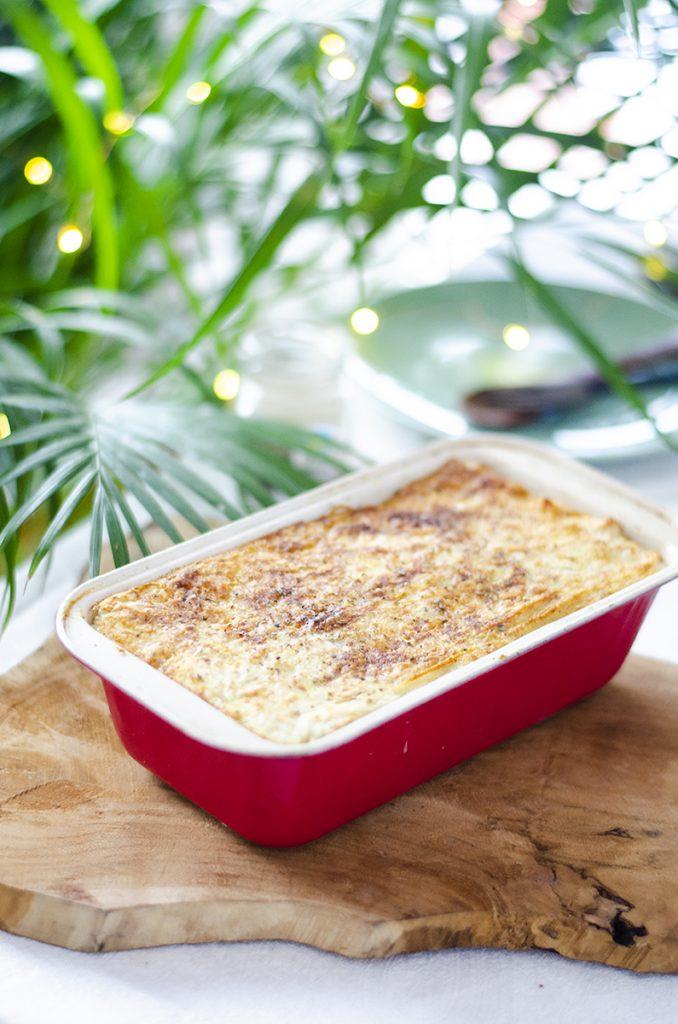 Pastel de patata y lentejas. Recetas vegetarianas fáciles, saludables y baratas. Legumbres.