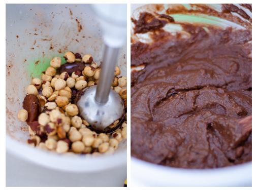 Resultado final de la mousse de chocolate vegana que colocaremos en el vasito.