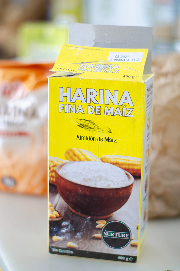 Harina de maíz - Recetas veganas dulces