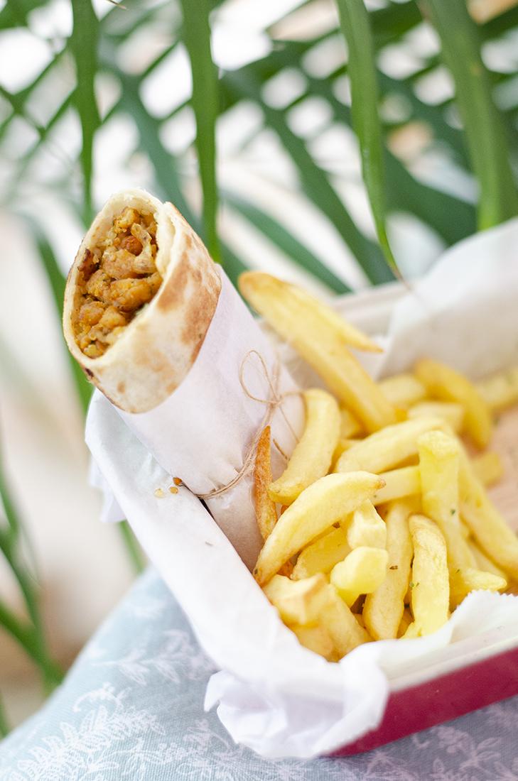 Burritos vegetarianos: quinoa y soja texturizada al pimentón Introducción fácil a la cocina vegetariana