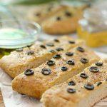 receta de pan con olivas negras