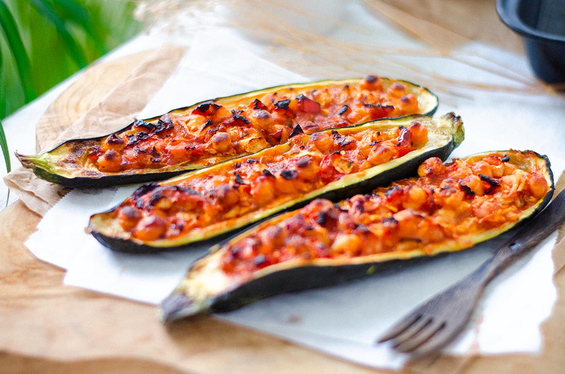 recetas-vegetarianas-calabacines-rellenos-facil-garbanzos