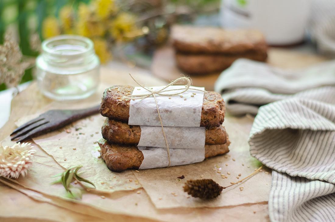 Recetas veganas fáciles: barritas de muesli, granola, energéticas. Fácil.