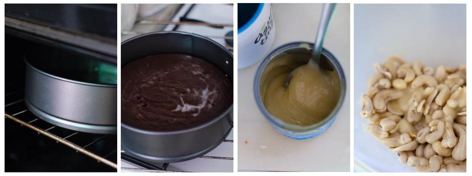 Horneamos y preparamos la crema de anacardos
