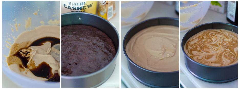 Montamos la tarta brownie
