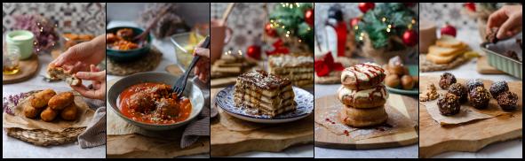 eBook 'Oh, Vegana Navidad' - recetas veganas / vegetarianas para navidad.