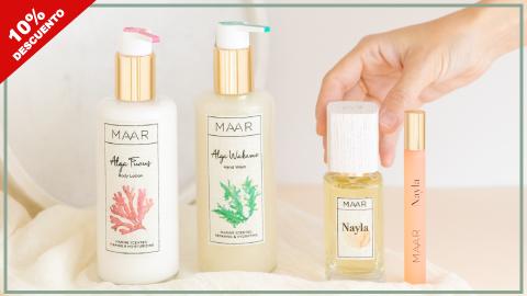 Codigo descuento Maar perfumes y cremas, perfumería natural