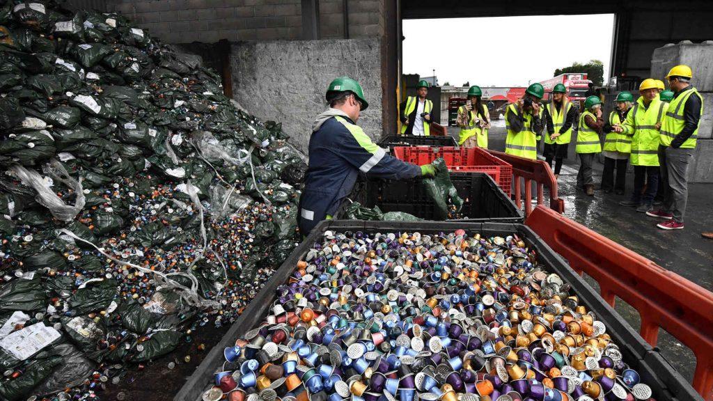 Planta de reciclaje de cápsulas - Cheshire, Reino Unido