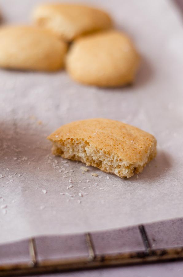 Galletas Danesas de mantequilla veganas, sin mantequilla. Receta casera.