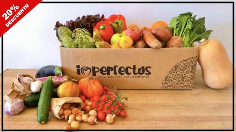 Código de descuento en Imperfectus Box, cajas de frutas y verduras a domicilio
