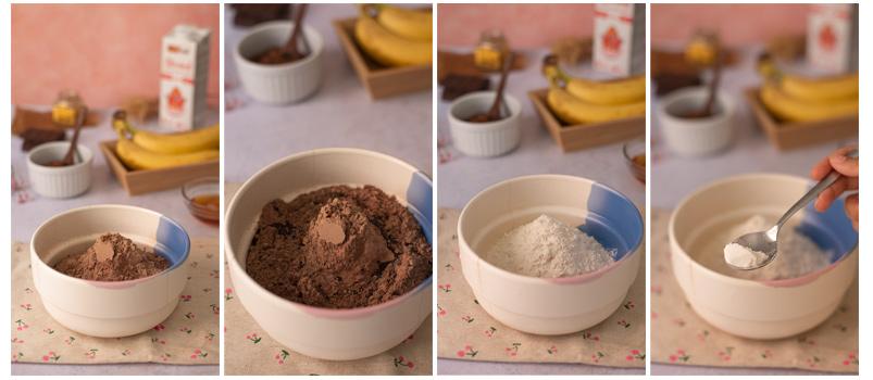 Preparamos crema de chocolate vegana