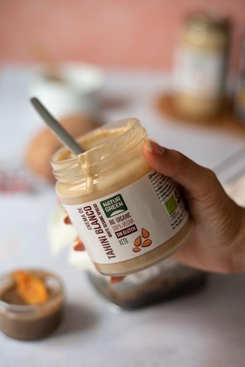 Tahini blanco naturgreen - recetas