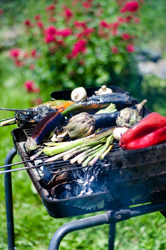 Cómo hacer una barbarcoa sin carne, vegetariana, vegana