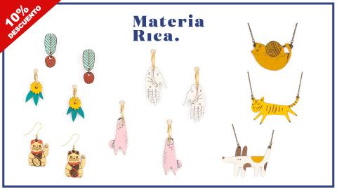 codigo-descuento-materia-rica-pendientes-collares-artesanos